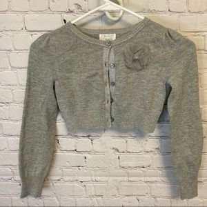 Set of two dressy cropped sweaters
